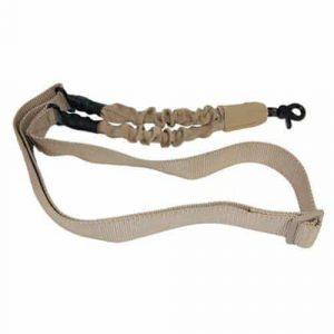 One Point Bungee Sling With QD Snap Hook (Desert Tan)