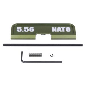 AR-15 Ejection Port Dust Cover Assembly (Gen 3) (W/ Lasered 5.56 NATO) (Anodized Green)