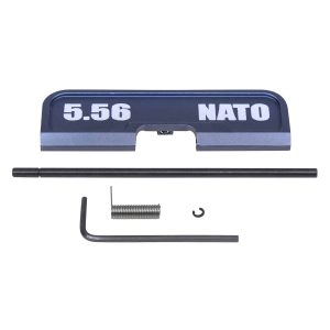 AR-15 Ejection Port Dust Cover Assembly (Gen 3) (W/ Lasered 5.56 NATO) (Anodized Grey)