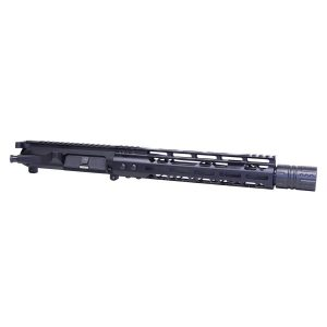 """AR-15 10.5"""" 5.56 Cal Complete Upper Kit W/ Hell Fire Muzzle Device"""