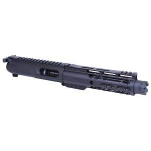 "AR-15 9mm Cal Complete Upper Kit W/7"" AIR-LOK Gen 2 Handguard & Mini Trident Flash Can"