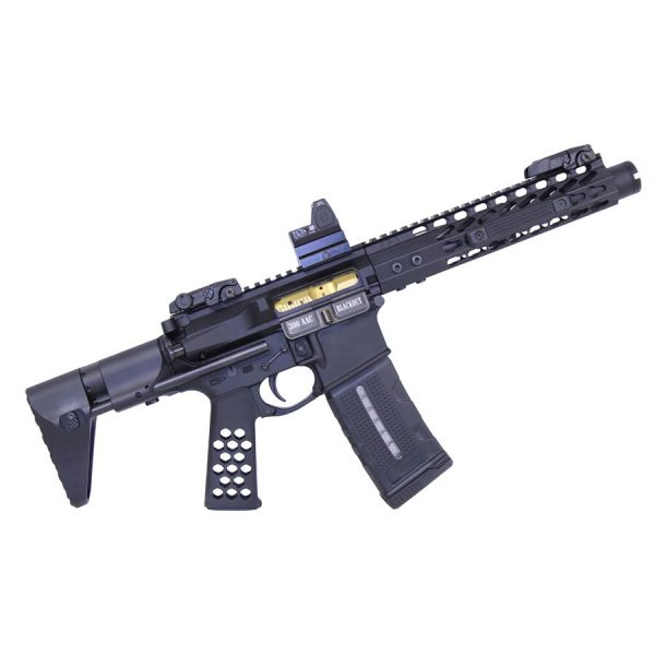 Airlite Series Skeletonized Aluminum Pistol Grip (Anodized Black)
