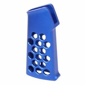 Airlite Series Skeletonized Aluminum Pistol Grip (Anodized Blue)