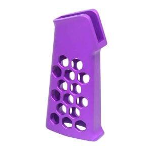 Airlite Series Skeletonized Aluminum Pistol Grip (Anodized Purple)