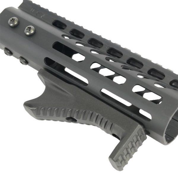 Aluminum Angled Grip For KeyMod System (Black)