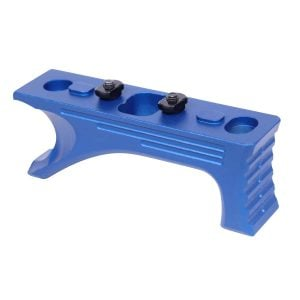 Aluminum Angled Grip For M-LOK System (Gen 2) (Anodized Blue)