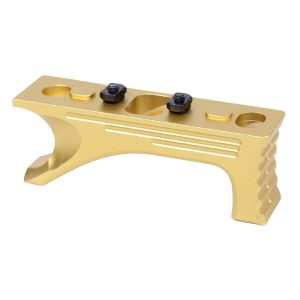Aluminum Angled Grip For M-LOK System (Gen 2) (Anodized Gold)