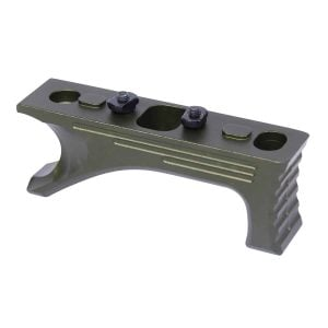 Aluminum Angled Grip For M-LOK System (Gen 2) (Anodized Green)