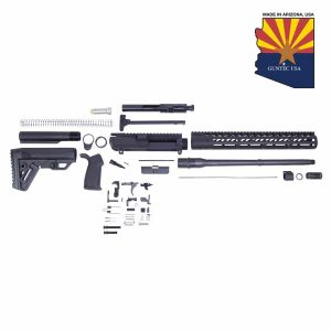 AR .308 Cal Complete Rifle Kit Combo #1 (No Lower) (Anodized Black)