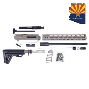 AR .308 Cal Complete Rifle Kit Combo #5 (No Lower) (Flat Dark Earth)