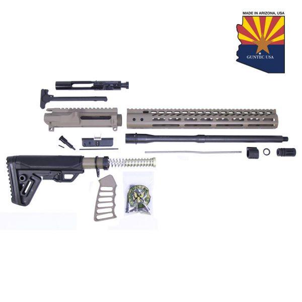 AR-15 5.56 Cal Complete Rifle Kit #2 (No Lower) (Flat Dark Earth)