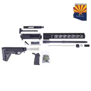 AR-15 5.56 Cal Complete Rifle Kit #3 (No Lower)