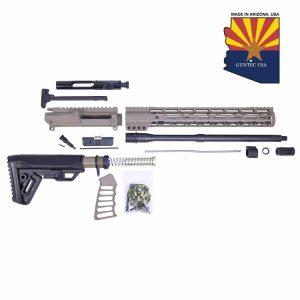 AR-15 5.56 Cal Complete Rifle Kit #4 (No Lower) (Flat Dark Earth)