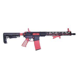 """16"""" 5.56mm 1:7 Twist M4 4150 Barrel (Cerakote Red)"""