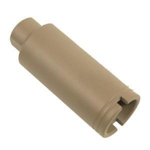 AR-10 .308 Cal Slim Line Cone Flash Can (Flat Dark Earth)