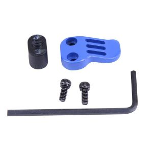 AR-15 / AR .308 Extended Mag Catch Paddle Release (Cerakote Blue)