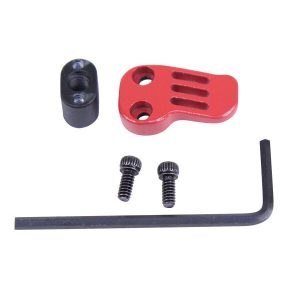 AR-15 / AR .308 Extended Mag Catch Paddle Release (Cerakote Red)