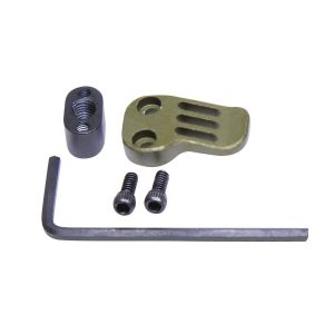 AR-15 / AR .308 Extended Mag Catch Paddle Release (Anodized Green)