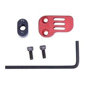 AR-15 / AR .308 Extended Mag Catch Paddle Release (Anodized Red)
