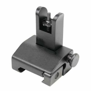 AR-15 Spring Assisted Rail Height Flip Up Front Sight