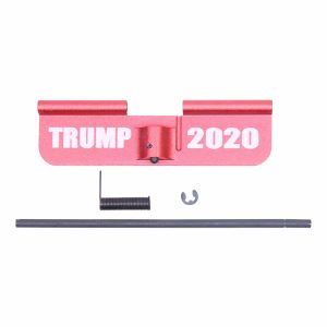 AR-15 Ejection Port Dust Cover Assembly (Gen 2) (W/ Lasered TRUMP 2020) (Anodized Red)