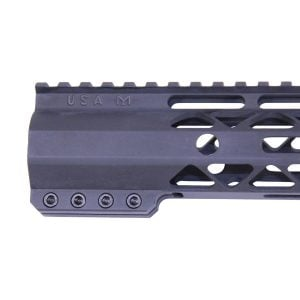 "10"" AIR-LOK Series M-LOK Compression Free Floating Handguard With Monolithic Top Rail"