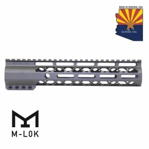 "10"" AIR-LOK Series M-LOK Compression Free Floating Handguard With Monolithic Top Rail (OD Green)"