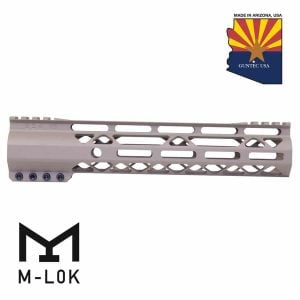 "10"" AIR-Lok Series M-LOK Compression Free Floating Handguard With Monolithic Top Rail (Gen 2) (Flat Dark Earth)"
