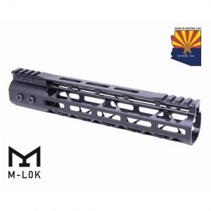 "10"" Mod Lite Skeletonized Series M-LOK Free Floating Handguard With Monolithic Top Rail"