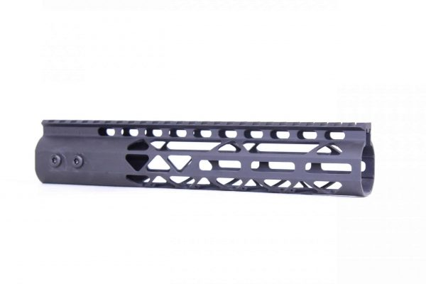 """10"""" Air Lite M-LOK Free Floating Handguard With Monolithic Top Rail (Anodized Black)"""