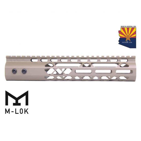 "10"" Air Lite M-LOK Free Floating Handguard With Monolithic Top Rail (Flat Dark Earth)"