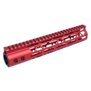 "10"" Air Lite M-LOK Free Floating Handguard With Monolithic Top Rail (Anodized Red)"