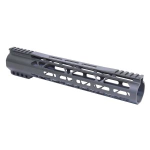 """AR-308 12"""" AIR-LOK Series M-LOK Compression Free Floating Handguard With Monolithic Top Rail (Gen 2) (OD Green)"""