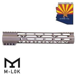 "12"" AIR-LOK Series M-LOK Compression Free Floating Handguard With Monolithic Top Rail (Gen 2) (Flat Dark Earth)"