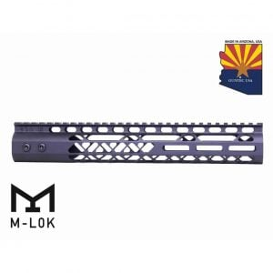 """12"""" Air Lite M-LOK Free Floating Handguard With Monolithic Top Rail (Anodized Black)"""