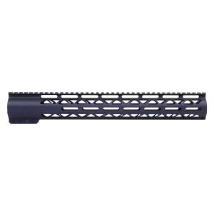 """15"""" AIR-LOK Series M-LOK Compression Free Floating Handguard With Monolithic Top Rail (.308 Cal) (Anodized Black)"""