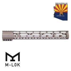 "15"" AIR-LOK Series M-LOK Compression Free Floating Handguard With Monolithic Top Rail (Gen 2) (Flat Dark Earth)"