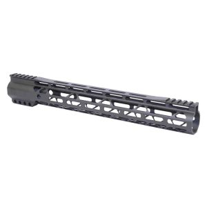 """15"""" AIR-LOK Series M-LOK Compression Free Floating Handguard With Monolithic Top Rail (Gen 2) (OD Green)"""