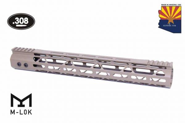 "15"" Mod Lite Skeletonized Series M-LOK Free Floating Handguard With Monolithic Top Rail (.308 Cal) (Flat Dark Earth)"