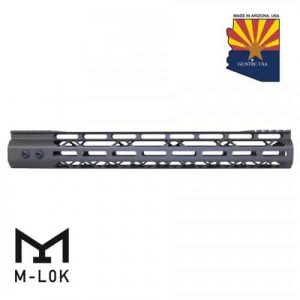15 Quot; Mod Lite Skeletonized Series M-LOK Free Floating Handguard With Monolithic Top Rail (OD Green)