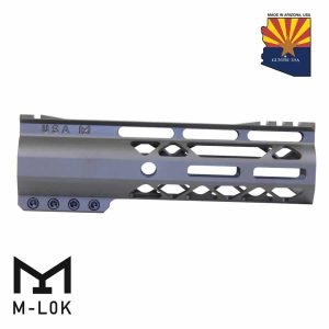 """7"""" AIR-LOK Series M-LOK Compression Free Floating Handguard With Monolithic Top Rail (Gen 2) (OD Green)"""