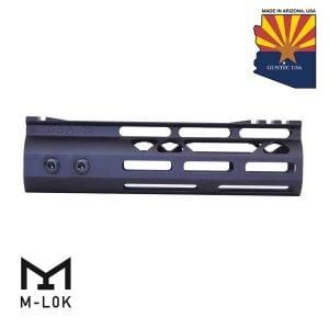 "7"" Mod Lite Skeletonized Series M-LOK Free Floating Handguard With Monolithic Top Rail (Anodized Black)"