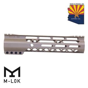 "9"" AIR-LOK Series M-LOK Compression Free Floating Handguard With Monolithic Top Rail (Gen 2) (Flat Dark Earth)"