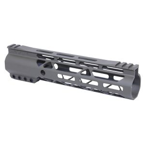 """9"""" AIR-LOK Series M-LOK Compression Free Floating Handguard With Monolithic Top Rail (Gen 2) (OD Green)"""