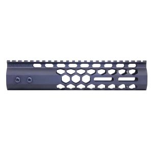 """9"""" Air Lite Series 'Honeycomb' M-LOK Free Floating Handguard With Monolithic Top Rail (Anodized Black)"""