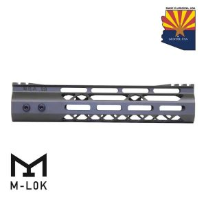 "9"" Mod Lite Skeletonized Series M-LOK Free Floating Handguard With Monolithic Top Rail (OD Green)"