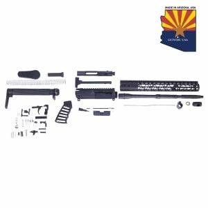 AR-15 5.56 Cal Complete Airlite Series Rifle Kit (No Lower)