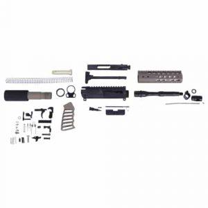 AR-15 5.56 Cal Complete Ultralight Series Pistol Kit (No Lower) (Flat Dark Earth)