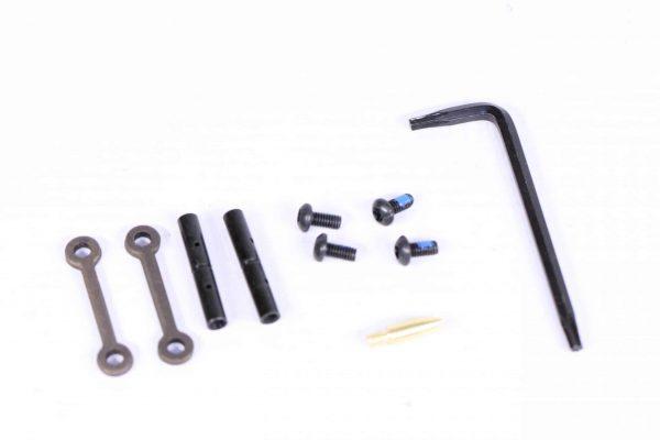 AR-15 Complete Anti-Rotation Trigger/Hammer Pin Set (Burnt Bronze)