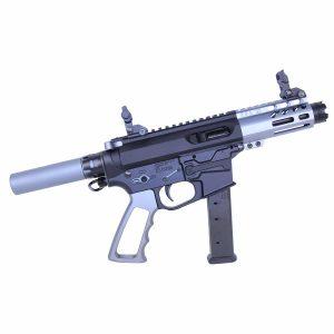 AR-15 Micro Pistol Furniture Set (Anodized Grey)